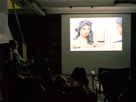 Screening of Video in Progress 3 in Rotterdam