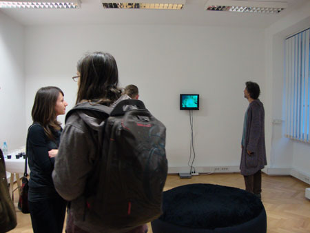 Opening of the exhibition RED: The Genderd Color in Frames