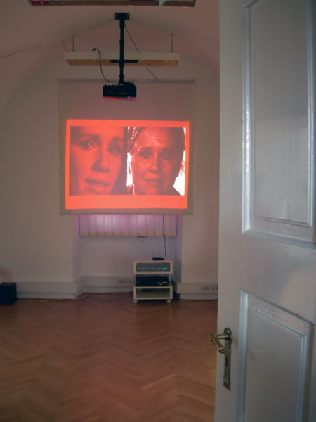 RED: The Genderd Color in Frames, Exhibition view