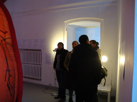 Secret Heart, exhibition opening