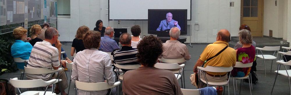 Pogovor z Anjo Medved in projekcija / Talk with Anja Medved and screening, photo: Kolektiva archive