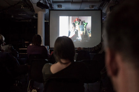 Video in Progress 5 at Kino Šiška, photo: Aleš Rosa, Kino Šiška
