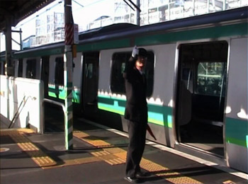 Tokyo Station Ballet by Rene Rusjan